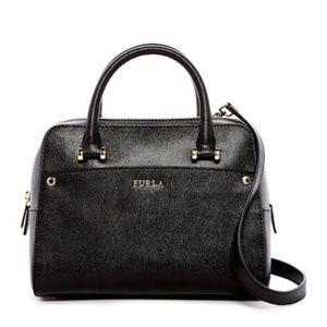 Brand New NWOT Furla Leather Satchel/Crossbody